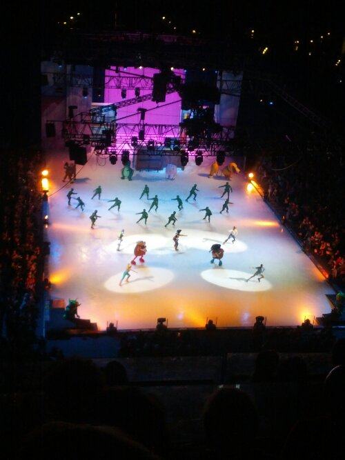 And then there was Disney on Ice.